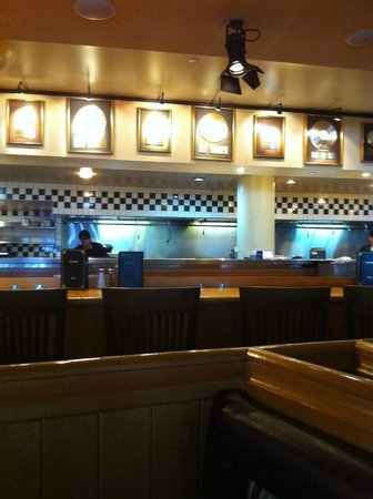 Hard Rock Cafe: Kitchen area for viewing
