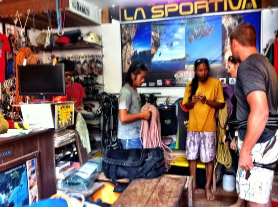 Railay Rock Climbing Shop - Day Adventures: shop