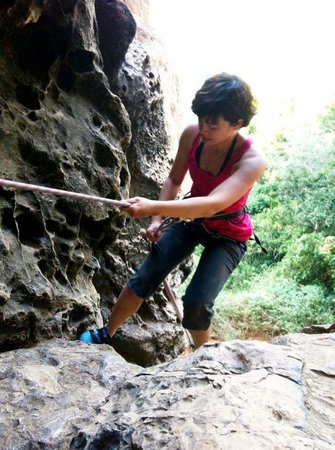 Railay Rock Climbing Shop - Day Adventures : abseiling trip