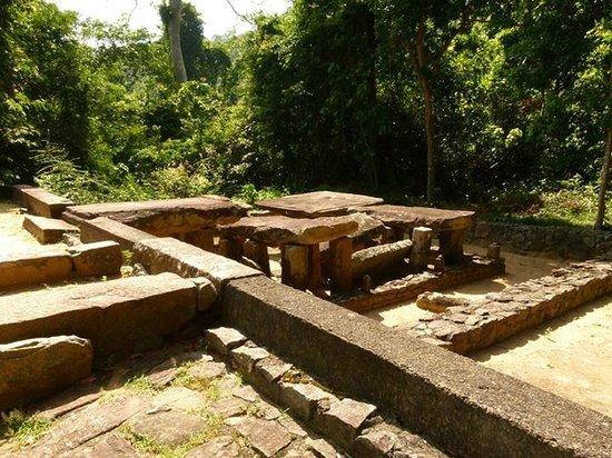 Melsiripura, Sri Lanka: Arankele Forest Monastery