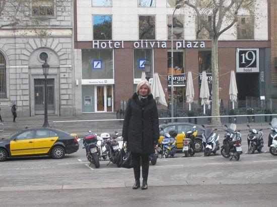 Hotel Olivia Plaza: Вид на отель.