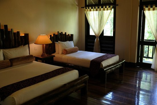 Borneo Rainforest Lodge: bed