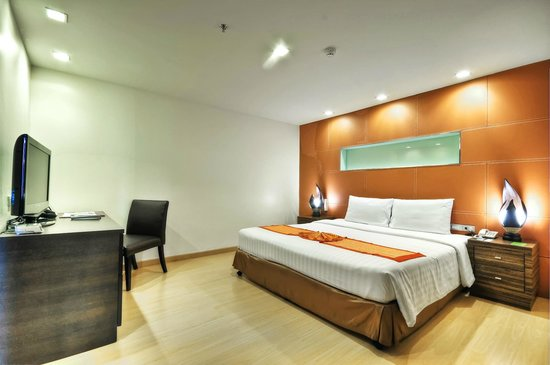 Aspen Suites Sukhumvit 2 by Compass Hospitality: Aspen Two Bedroom Suite : The bedroom
