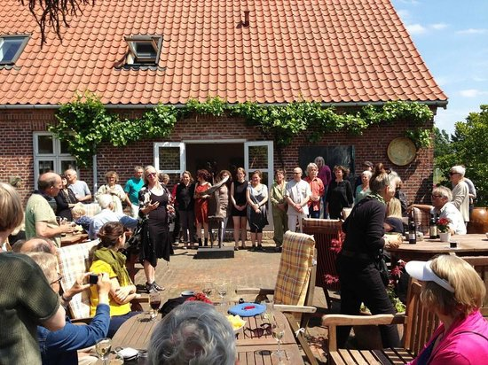 Kettinge, Denmark: From the opening of the summer exhibition in June 2013