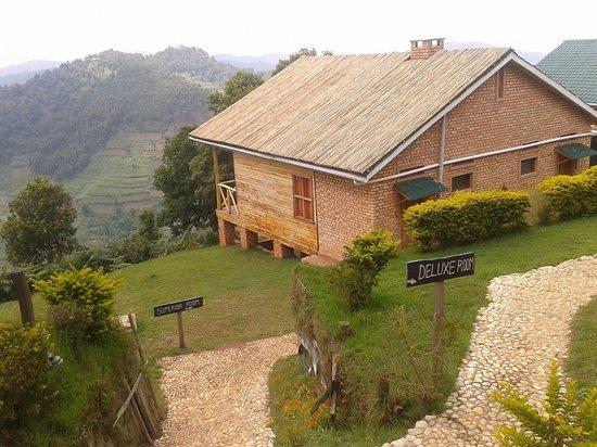 Ruhija Gorilla Safari Lodge: Redesigned Cabin Roofs