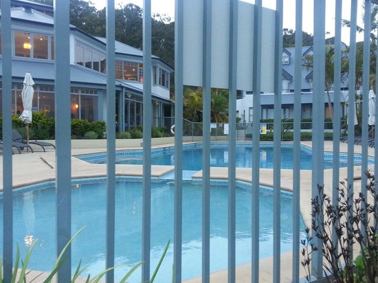 Anchorage Port Stephens: Pool area