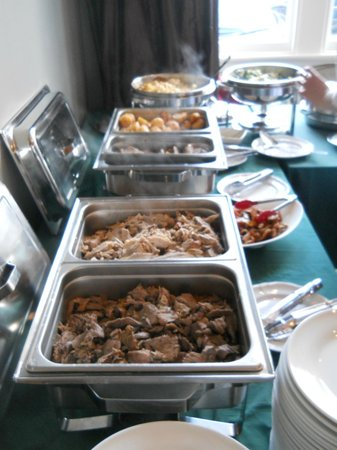 Settlers Motor Lodge: Buffet weddings at Alfred Coles House