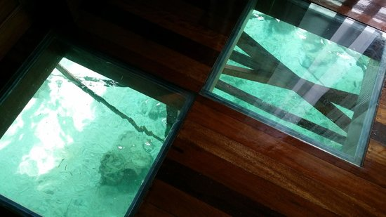 Mabul Water Bungalows: more floor views