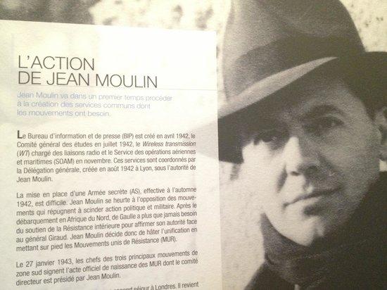 Centre d'histoire de la Résistance et de la Déportation : Jean Moulin