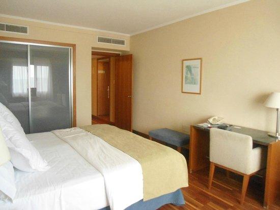 NH Montevideo Columbia: O quarto.