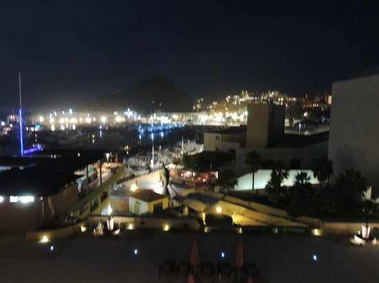 Tesoro Los Cabos: Harbor at Night