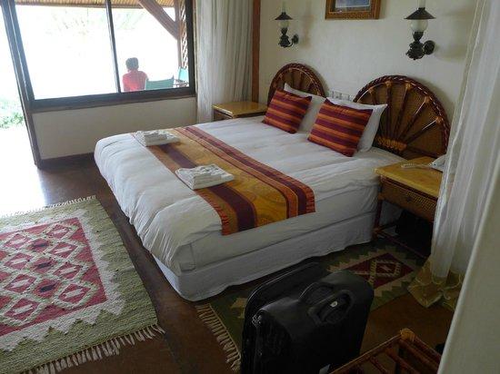 Mweya Safari Lodge: The room