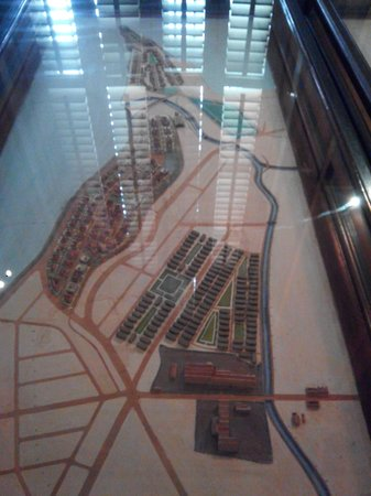 Bhau Daji Lad Museum: Map of old Bombay
