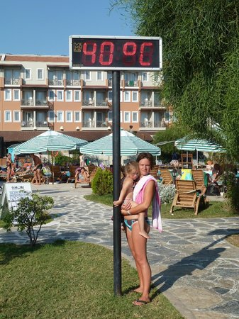 Cactus Club Yali Hotels & Resort : temperature