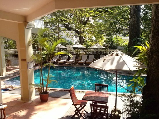 Grand Sunset Angkor Hotel: Poolbereich