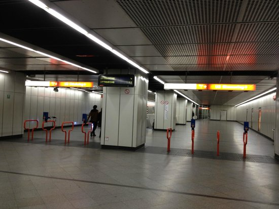 Graben Hotel : Венское метро