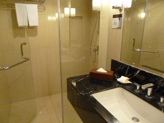 Luxent Hotel: Bathroom