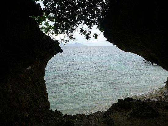 Tangkaan Beach: View from Resort