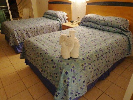 Casa Mexicana Cozumel: gode senge