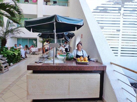 Casa Mexicana Cozumel: Den suveræne kok