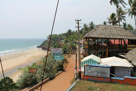 The Gateway Hotel Janardhanapuram Varkala: north cliff