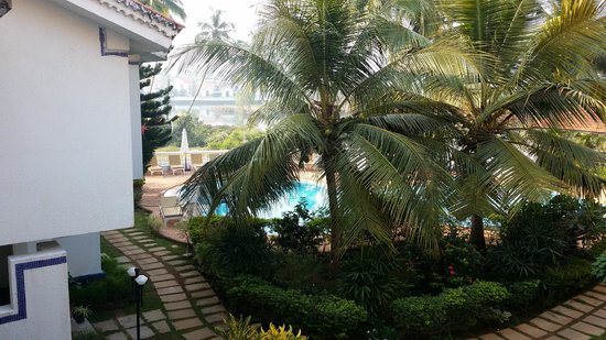 Resort Lagoa Azul: Excellent Poolside facing Balcony view