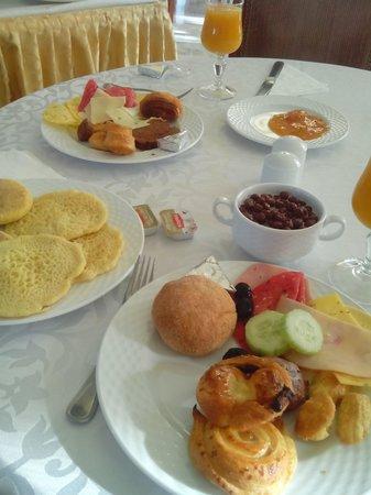 Grand Mogador Sea View - Hotel de luxe : petit déjeuner au restaurant de l'hotel