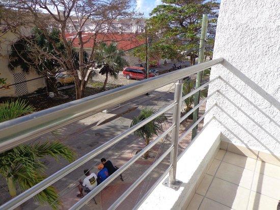 Casa Mexicana Cozumel : Udsigten fra 1.sal vær. 119