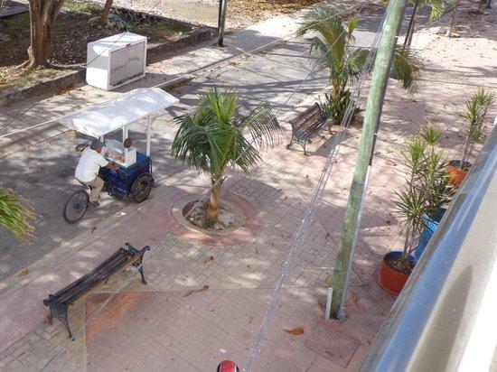 Casa Mexicana Cozumel : Udsigt fra 1.sal vær.119