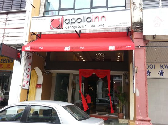 Apollo Inn: Exterior