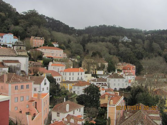 Hotel Tivoli Sintra : view from room