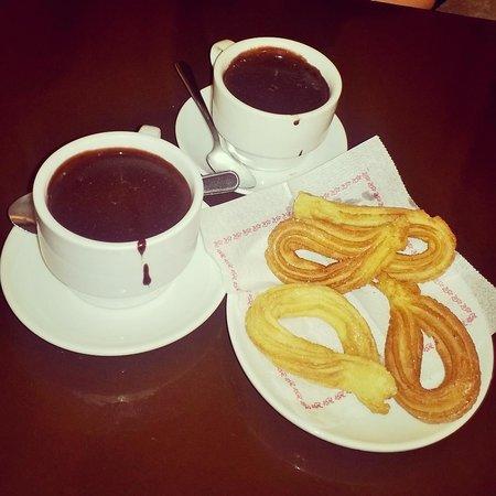 Granja Dulcinea: cioccolata calda