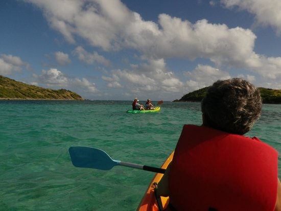 Caribbean Paddling: Out to the Island
