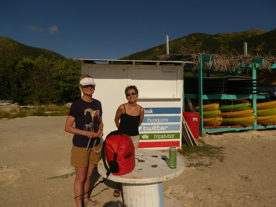 Caribbean Paddling: Ready to launch