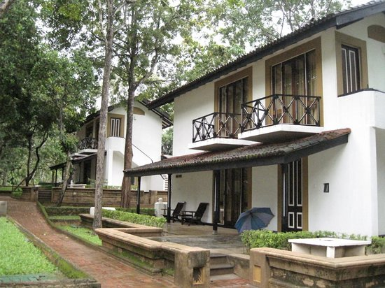 Cinnamon Lodge Habarana: We had the ground floor -  a deluxe room
