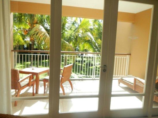 Victoria Beachcomber Resort & Spa : terrasse