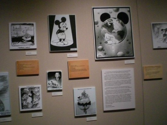 Walt Disney Family Museum: Captions on Walt's Death