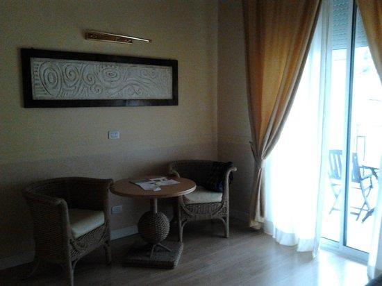 Hotel Corallo: ..la camera..