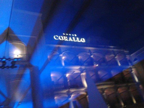 Hotel Corallo: ..il ponte di notte..