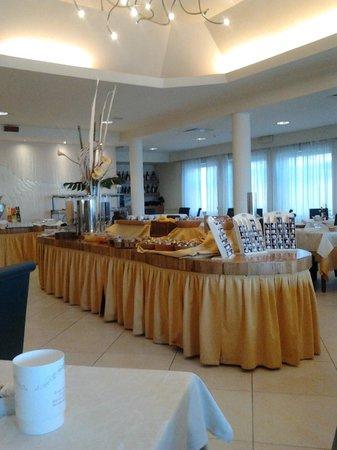 Hotel Corallo: ..sala da pranzo..la colazione