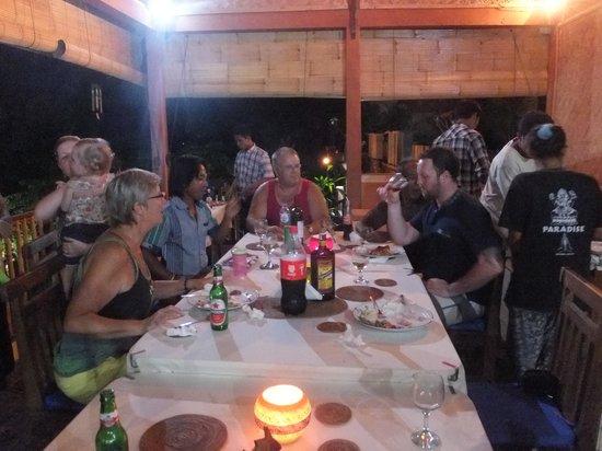 Paradise Bungalows Bali: special Australian celebration