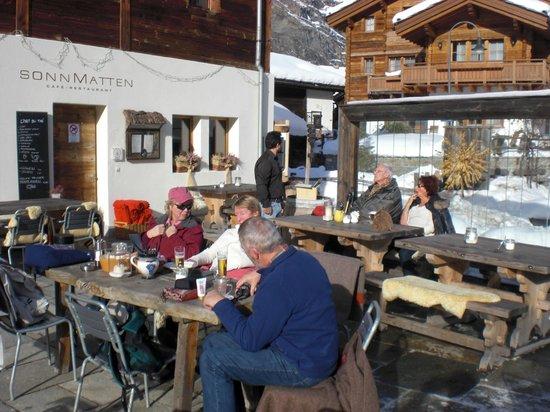 Sonnmatten Restaurant & Suite: Terrasse Sonnmatten