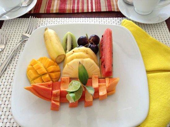 Elephant Stables: Breakfast Fruit Plate