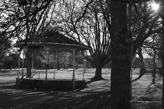 Victorian Bandstand at Ellington Park, Ramsgate