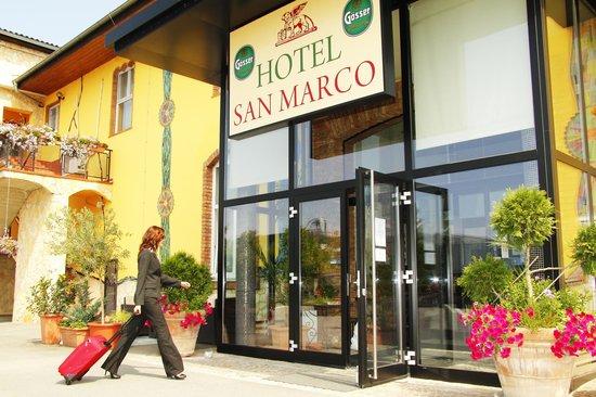 Hotel San Marco : Der Hoteleingang