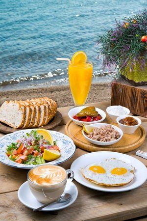 Dekel Beach Breakfast On The Water Fresh Healthy