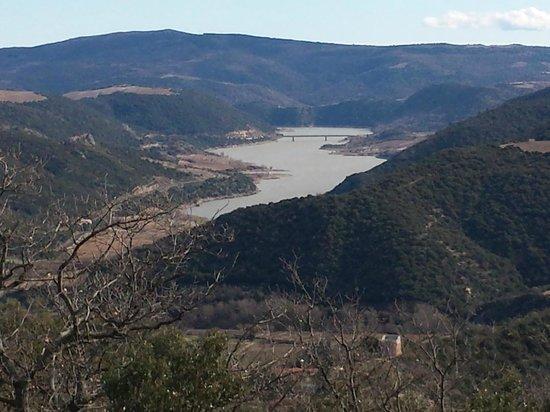 Auberge du Grand Rocher : 1 des vue sur le plan d'eau
