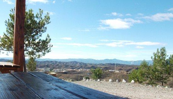 Taberno, Hiszpania: Mirador Area de acampada
