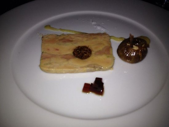L'Etranger: Terrine Foie Gras - super yummy!