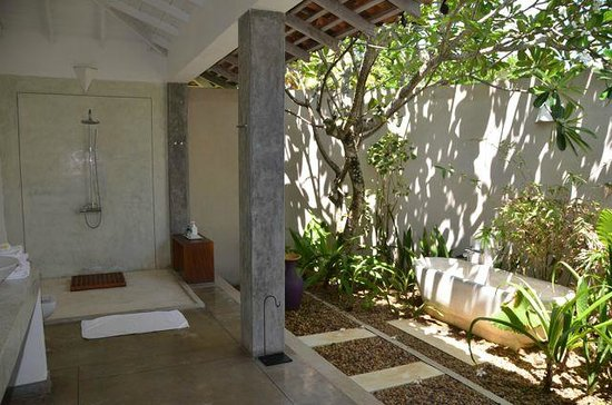 The Frangipani Tree by Edwards Collection: Outdoor Bathroom